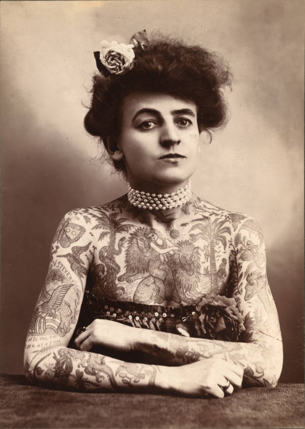 Maud Wagner Tattoo Portrait