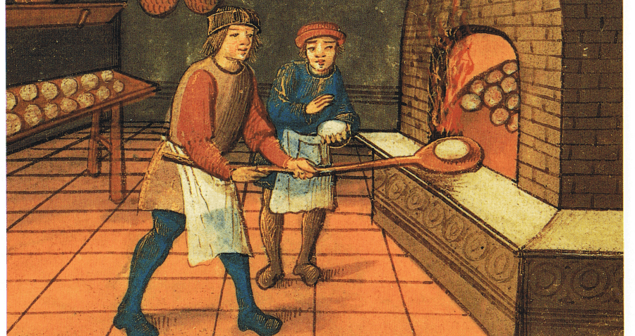 Medieval Diets Bread Bakers Guild Oven