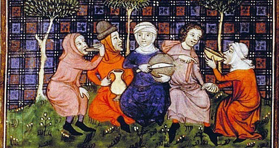 the foods that dominated in europe during the renaissance period And so began the period of european history known as the dark ages, when out   in summer after the midday meal, he would eat some fruit, drain a single cup,   feudalism was the dominant form of political organization in medieval europe.