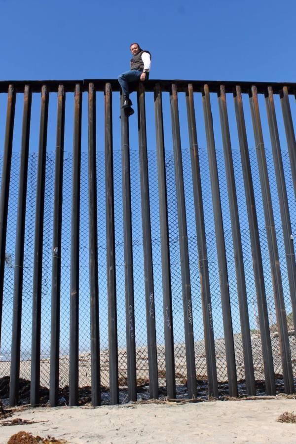 Mexican Politician Border Fence