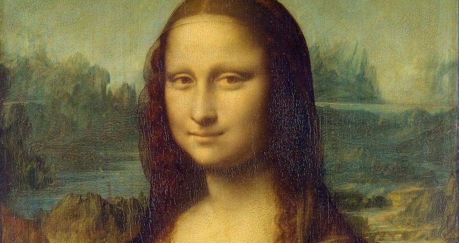 Mono Lisa Smiling