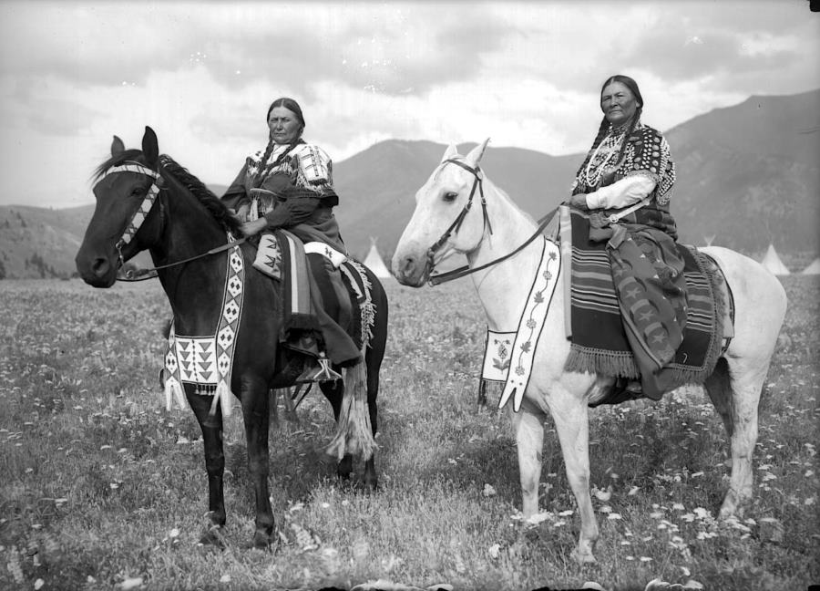 Native American Horseback