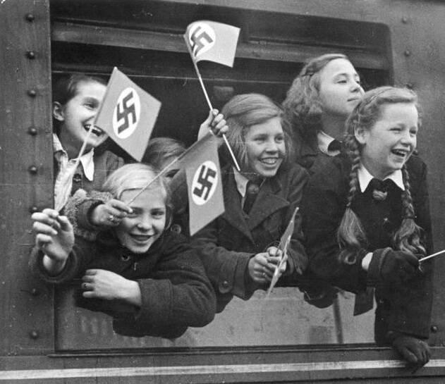 Nazi Kids On A Train