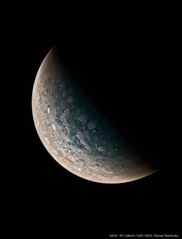 North Pole Jupiter