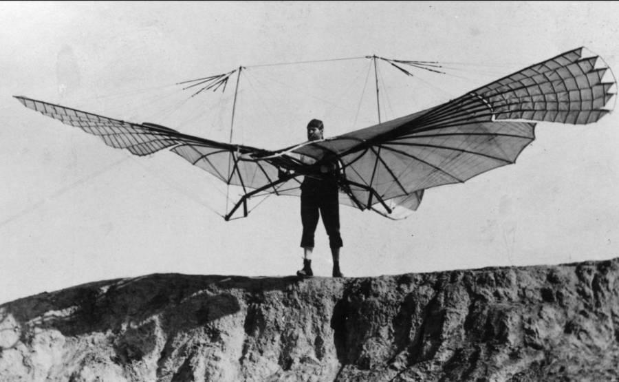 Otto Glider Flying Machines
