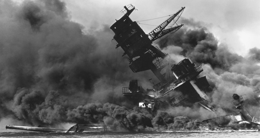 Pearl Harbor Boat Sinking