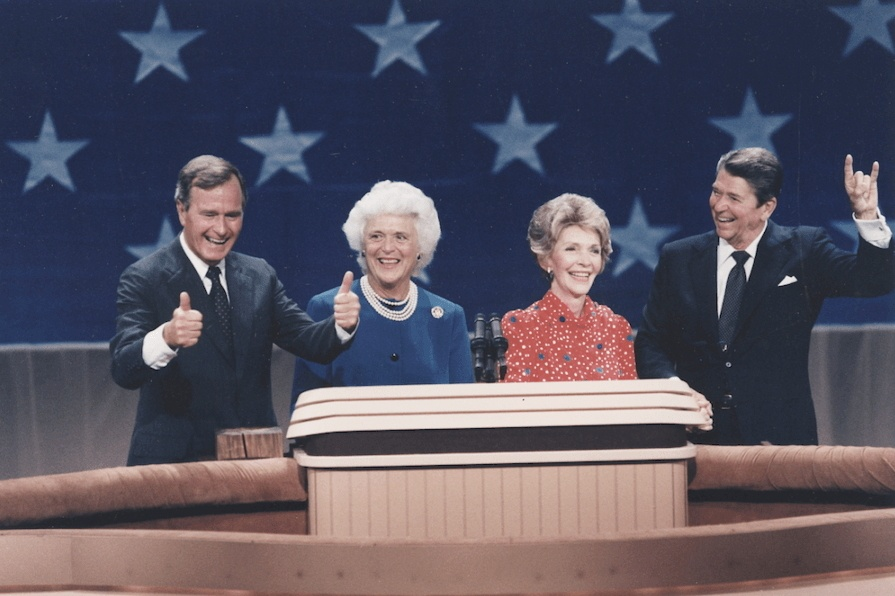 Reagan Bush Stage