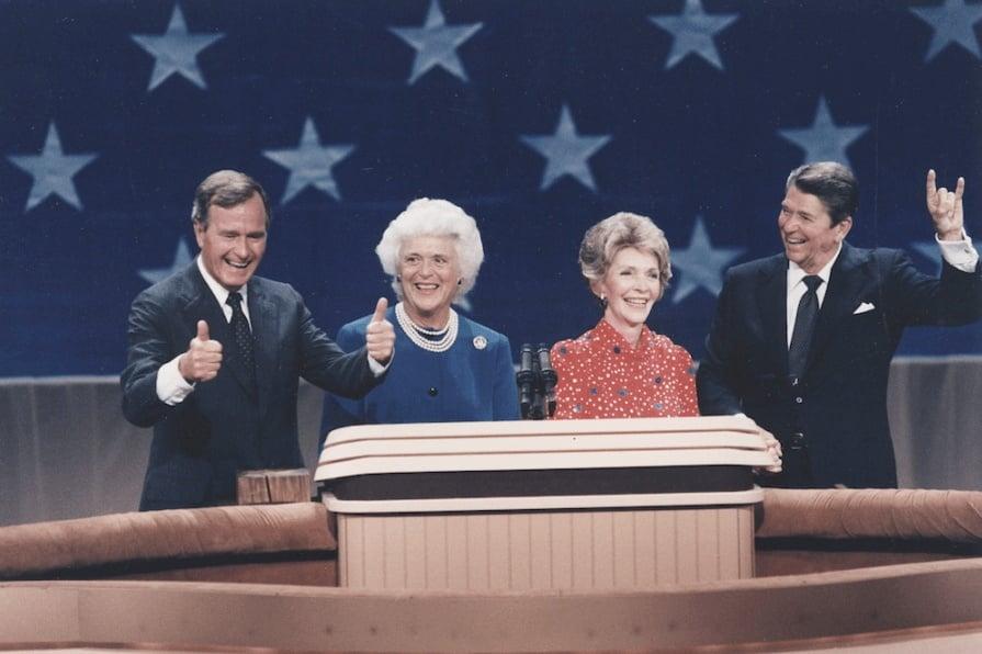 Reagan Bush Stage