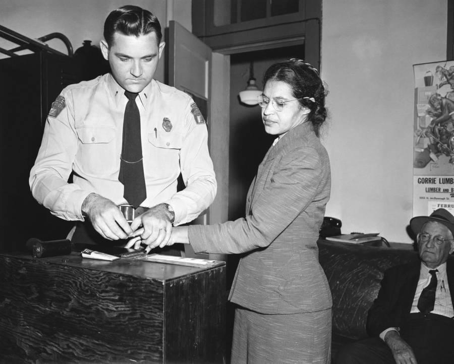 Rosa Parks Fingerprint