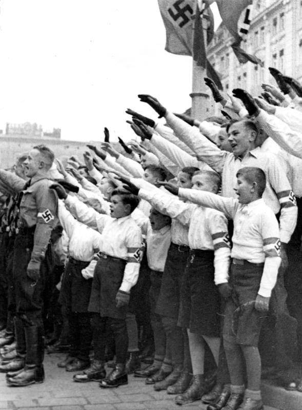 Saluting In White