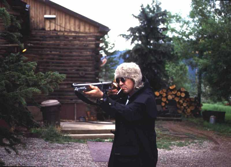 Shooting At His Aspen Ranch