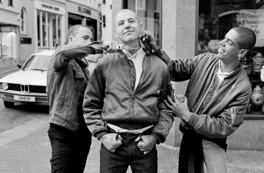 Skinheads Knives Face