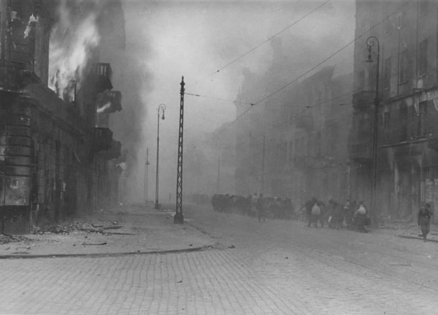 Smoke Filled Street