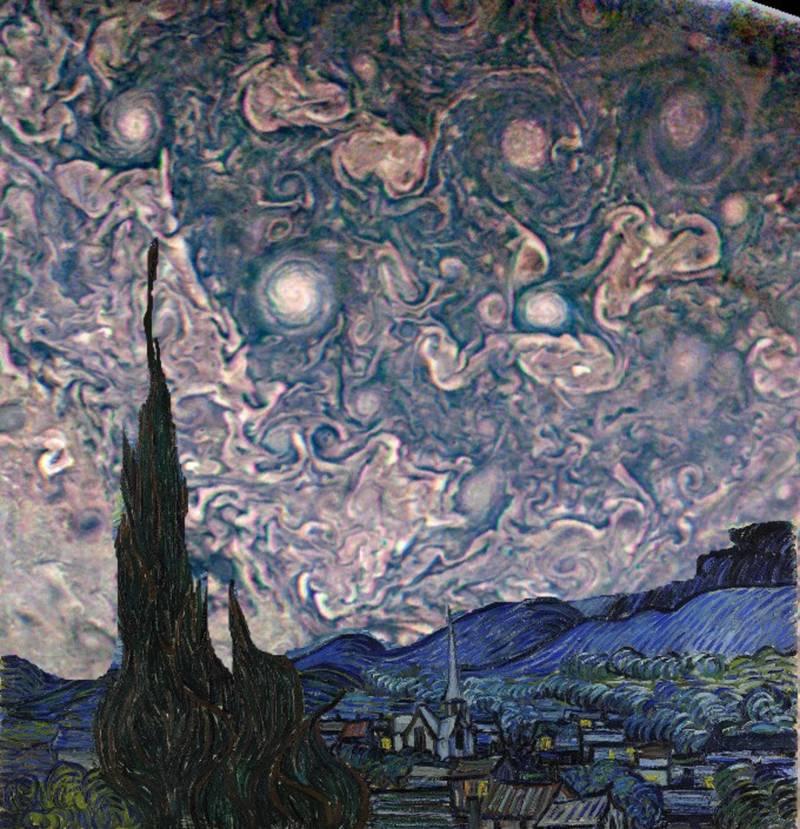 Starry Night Jupiter