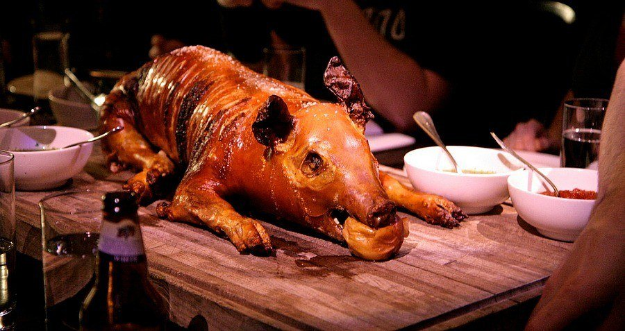 Suckling Pig Feast Average Medieval Diet