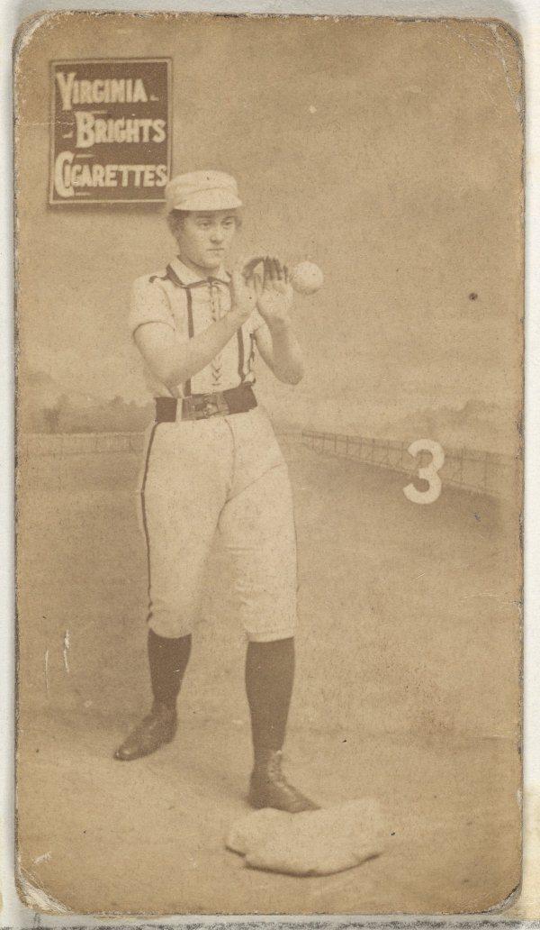 Third Base Catching Baseball Girl