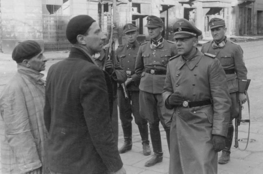 Two Jewish Men Interrogated
