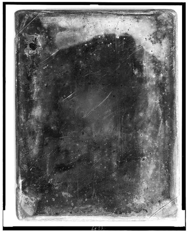 Unidentified Portrait White Scratches