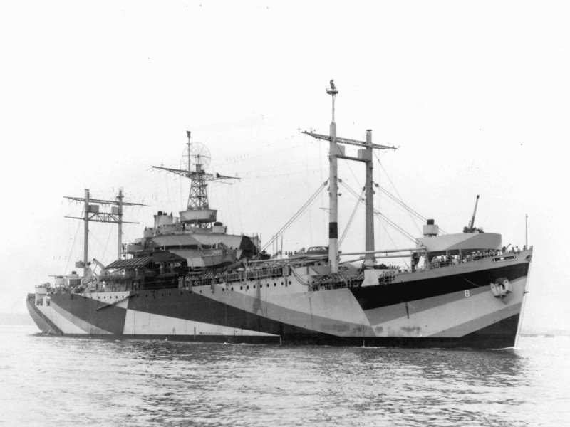 Uss Mount Olympus In June