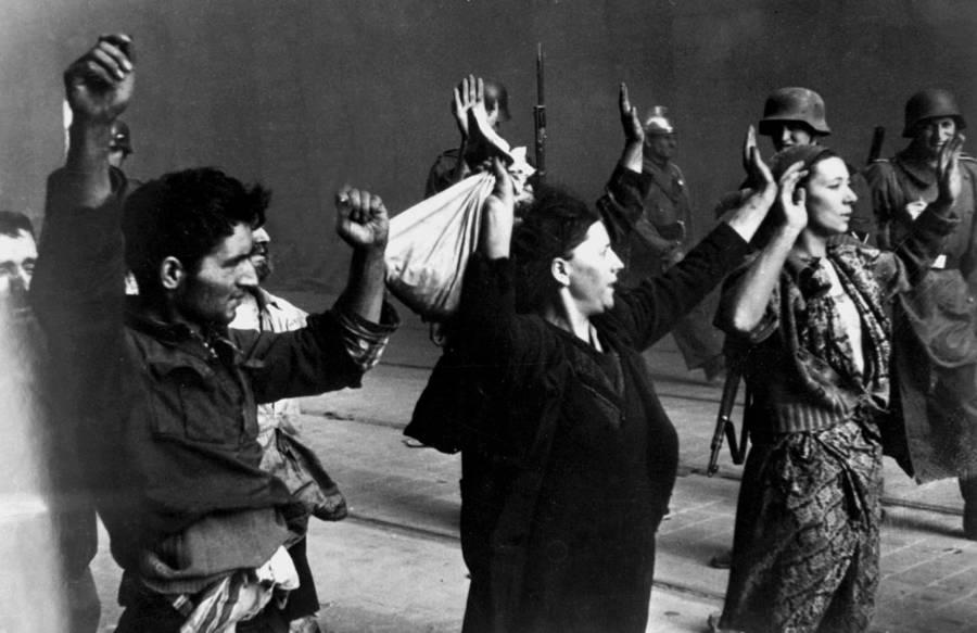 Warsaw Ghetto Uprising Hands