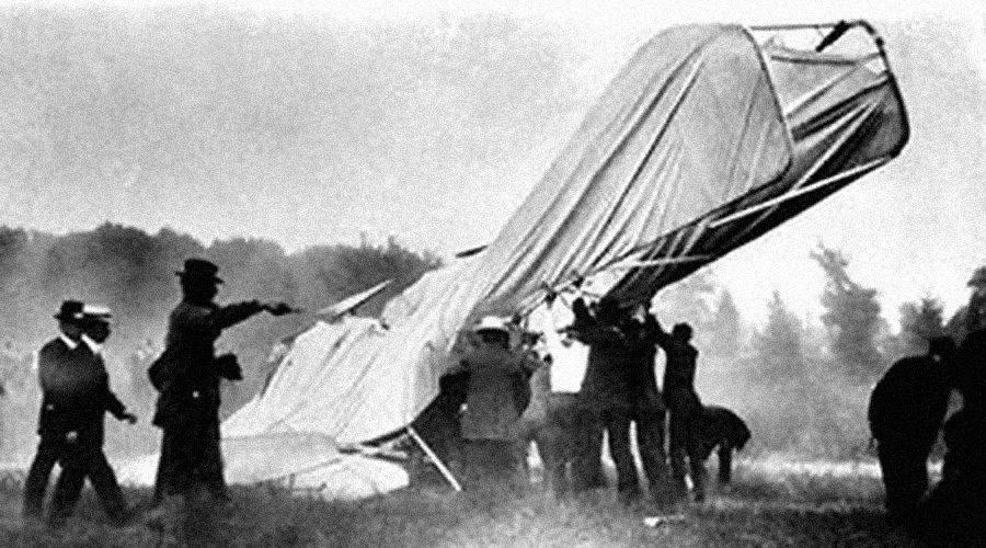 Wright Wreck Scene