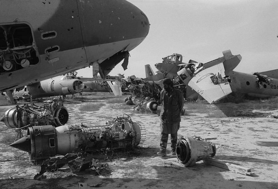 Aircraft Graveyard In Khost