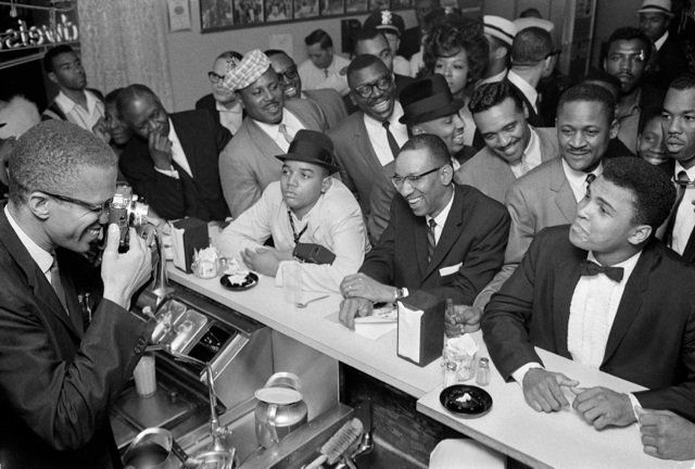 Ali With Malcolm X