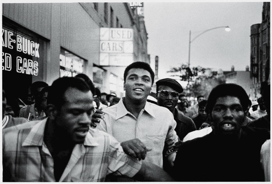 Ali With The Panthers