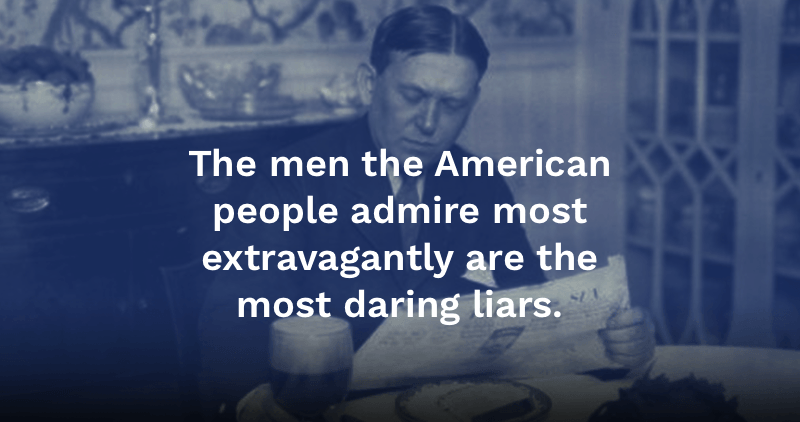 27 Scathing Hl Mencken Quotes On Politics Religion And The