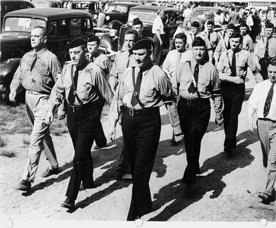 Black Pants Marching