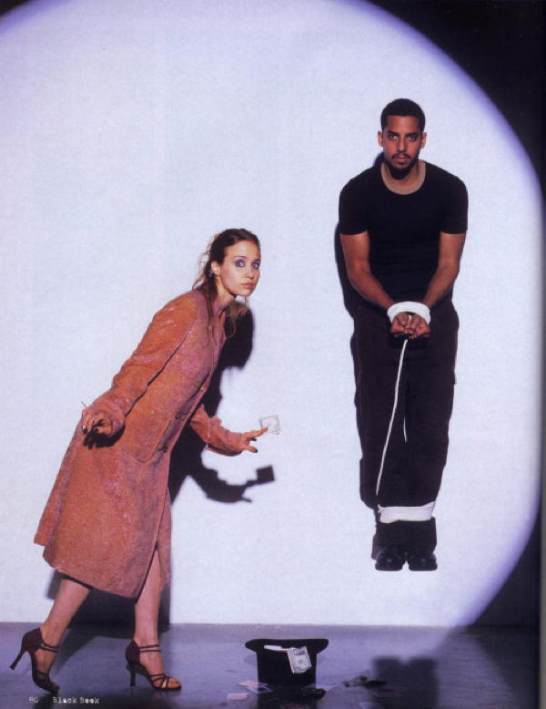 Fiona Apple and David Blaine