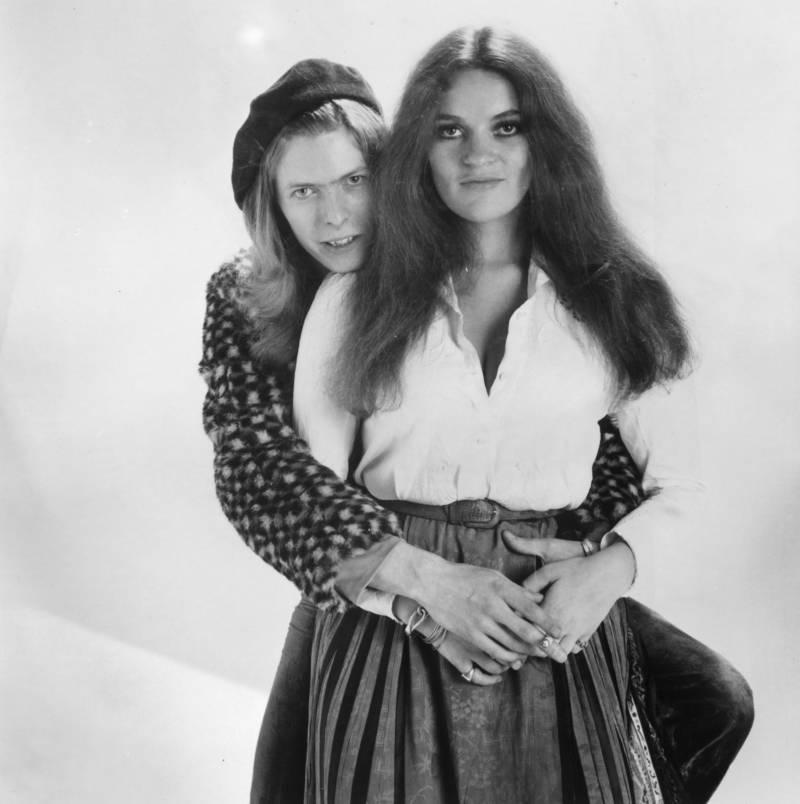 Bowie Actress Hug
