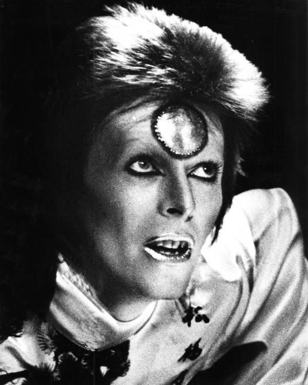 Bowie Alien Head