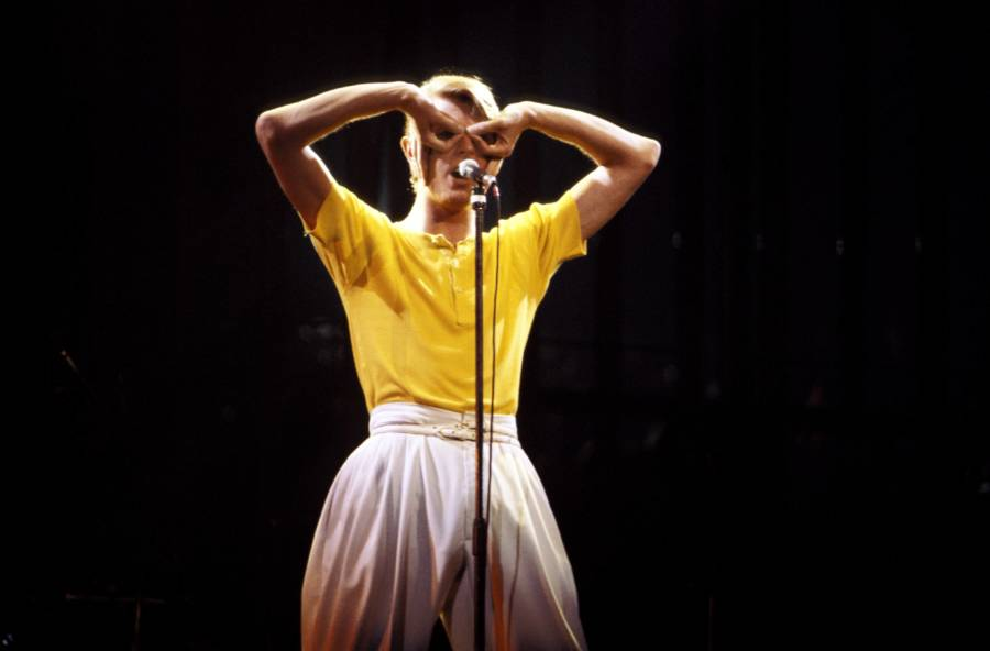 Bowie Funny Face Yellow