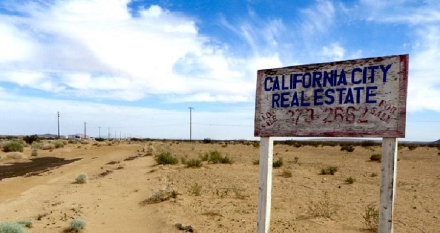 California City Is The State Of California S Biggest Emptiest Town