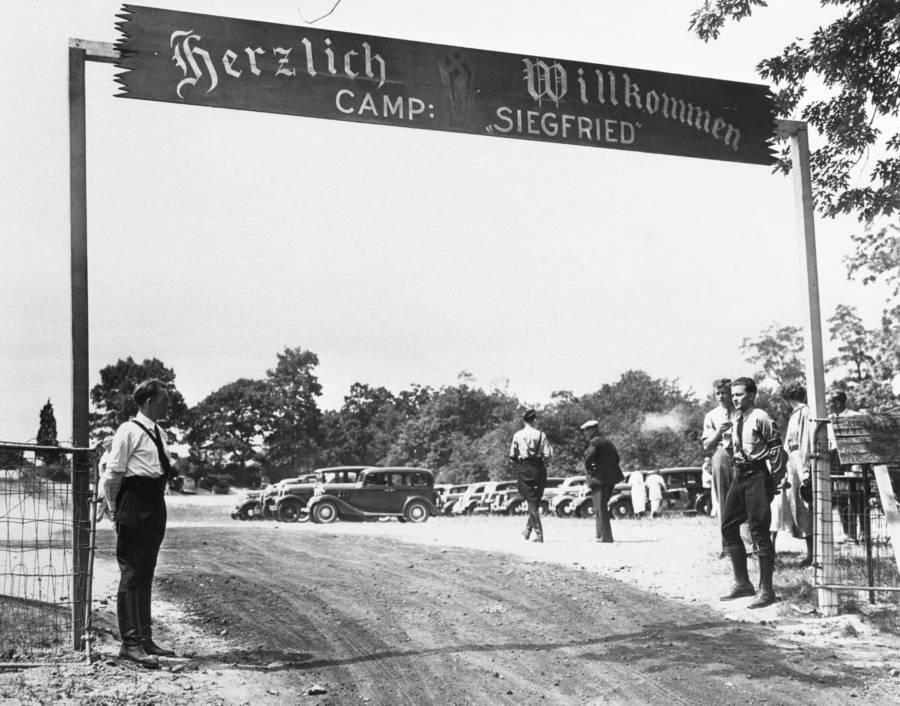Camp Siegfried Entrance