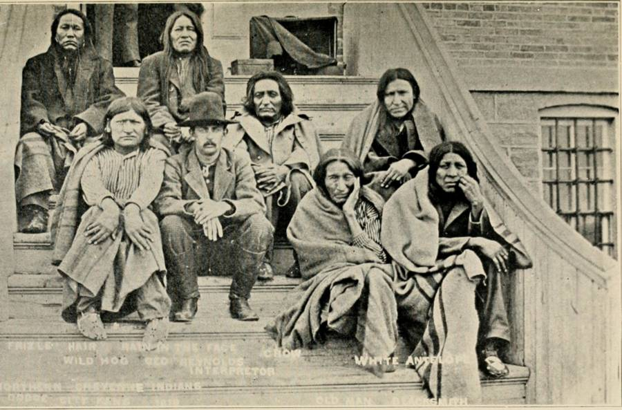 Cheyenne Indian Prisoners