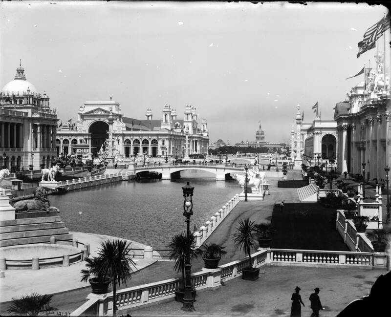 Chicago Worlds Fair Columbian Exposition