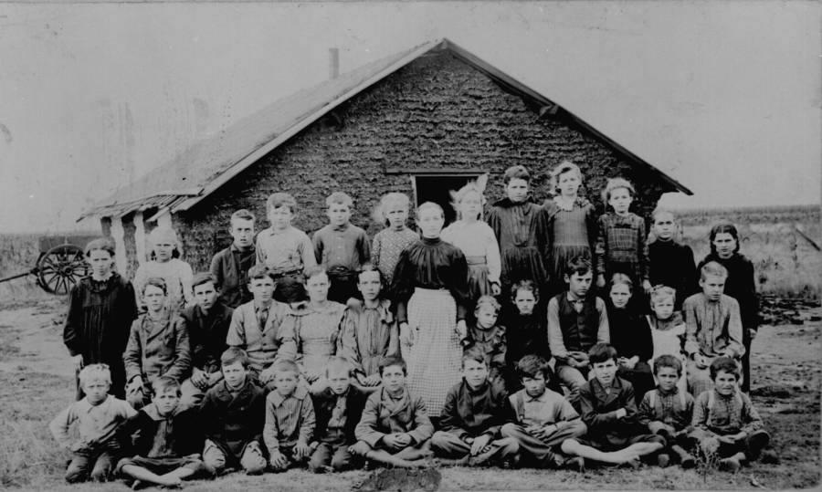 Children Schoolhouse