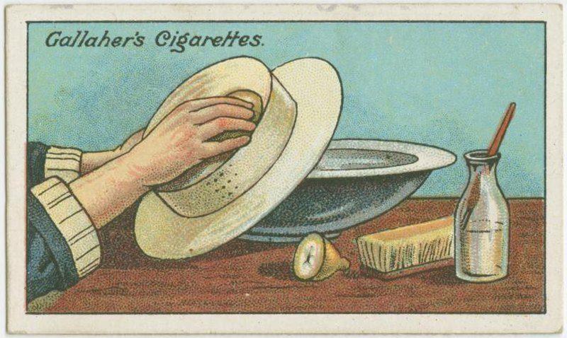 Clean White Straw Hat
