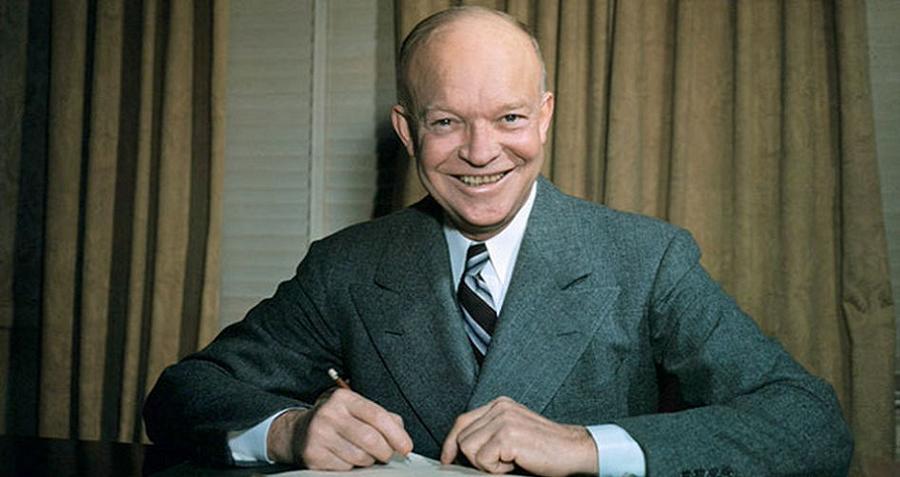 Cointelpro Eisenhower Smiling