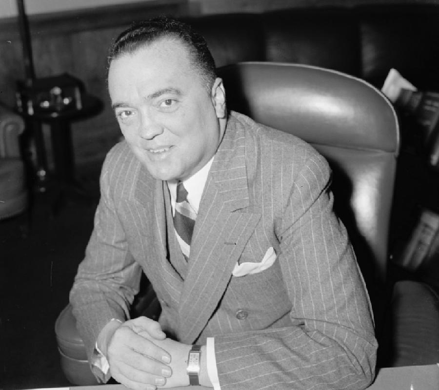 Cointelpro Hoover Smiling
