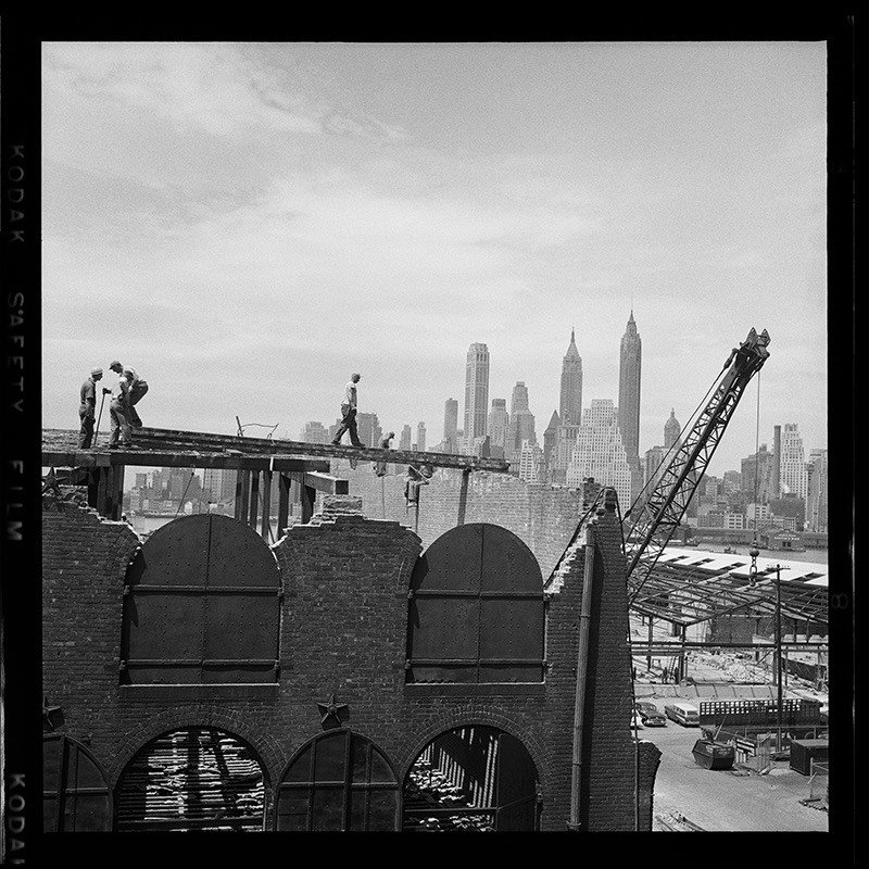 Construction In Brooklyn
