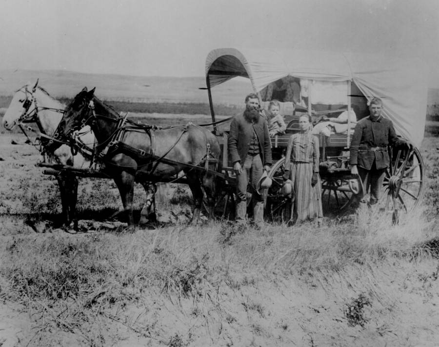 Covered Wagon Great Migration
