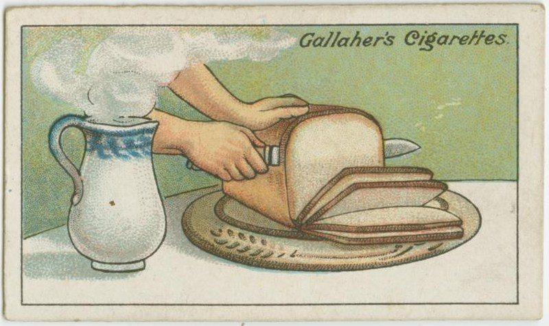 Cut Bread Into Thin Slices