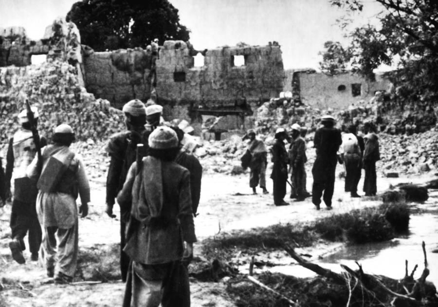 Destruction Soviet Afghan War