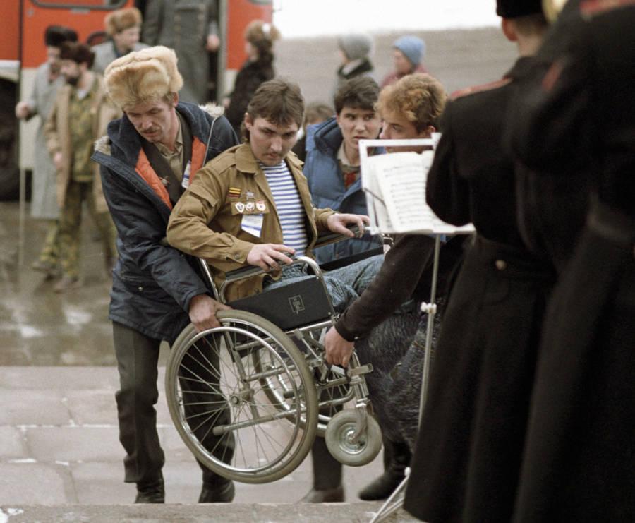 Disabled Soviet Veteran