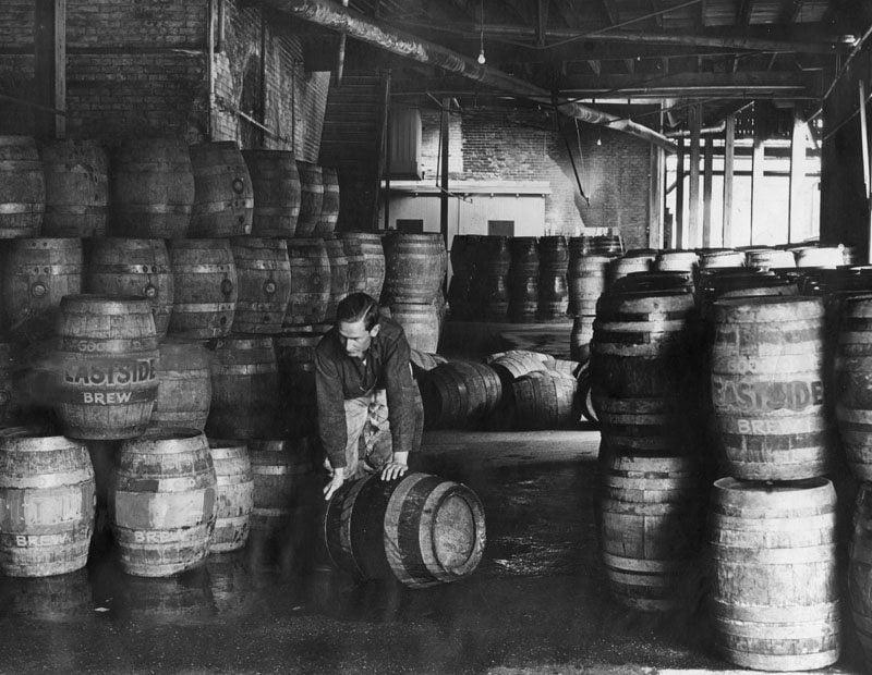 Eastside Brewery Prepares Kegs