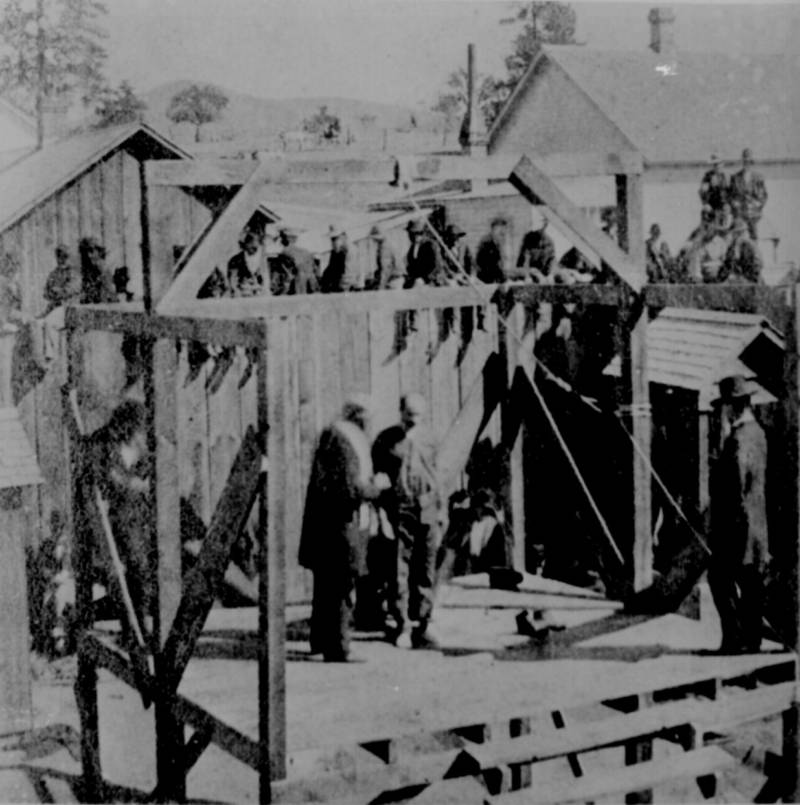 Execution Of A Soldier