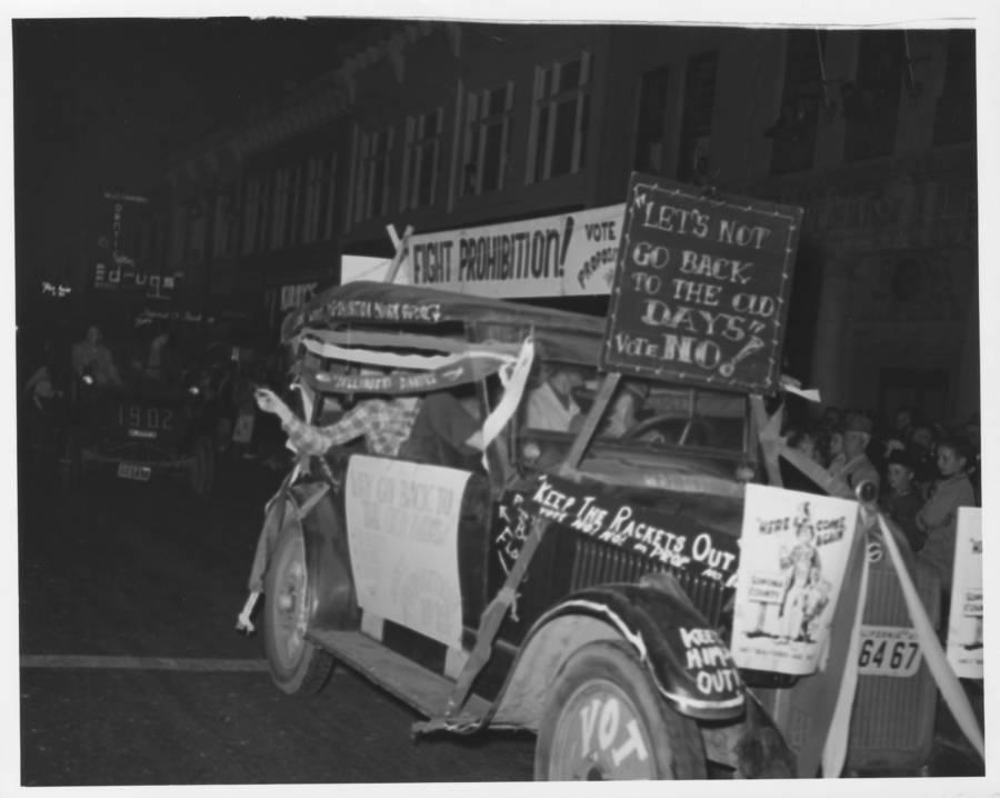 Fight Prohibition Car